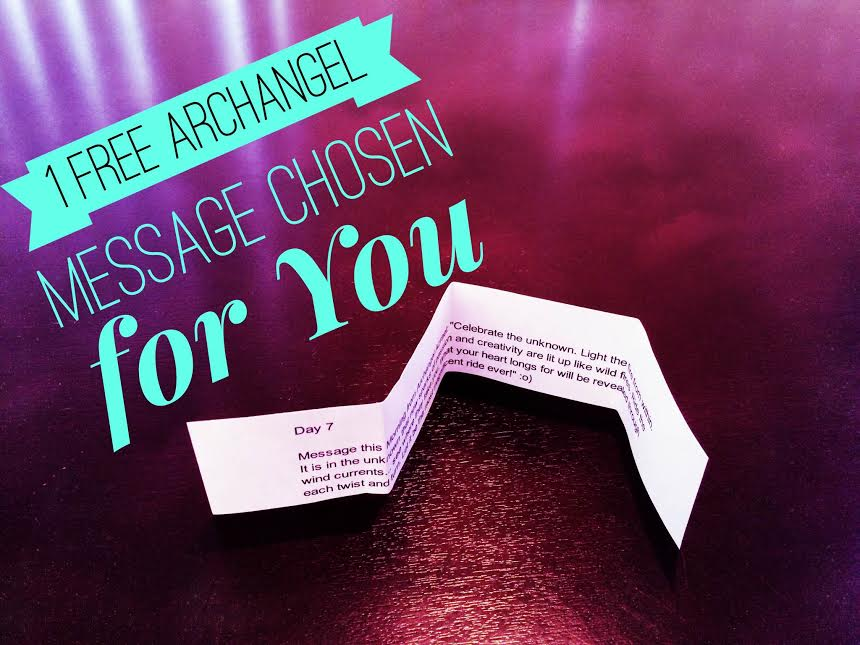 1 FREE Archangel Message for you Archangels Bless