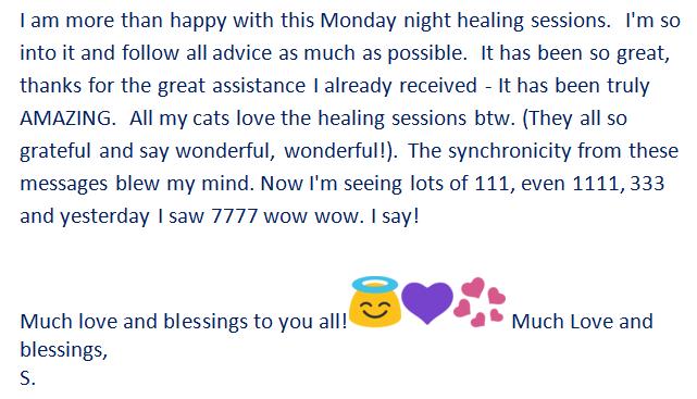 Testimonial Weekly Healing 1