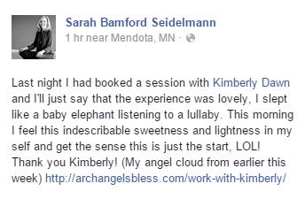 Sarah Seidelmann's Testimonial