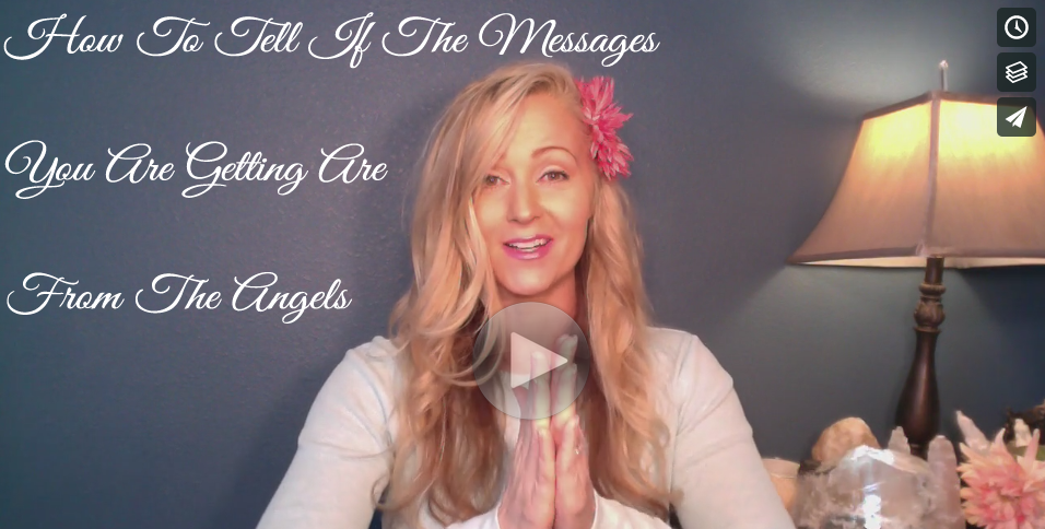 Module 5 - How To Tell If The Messages You Are Getting Are From The Angels - Kimberly Dawn