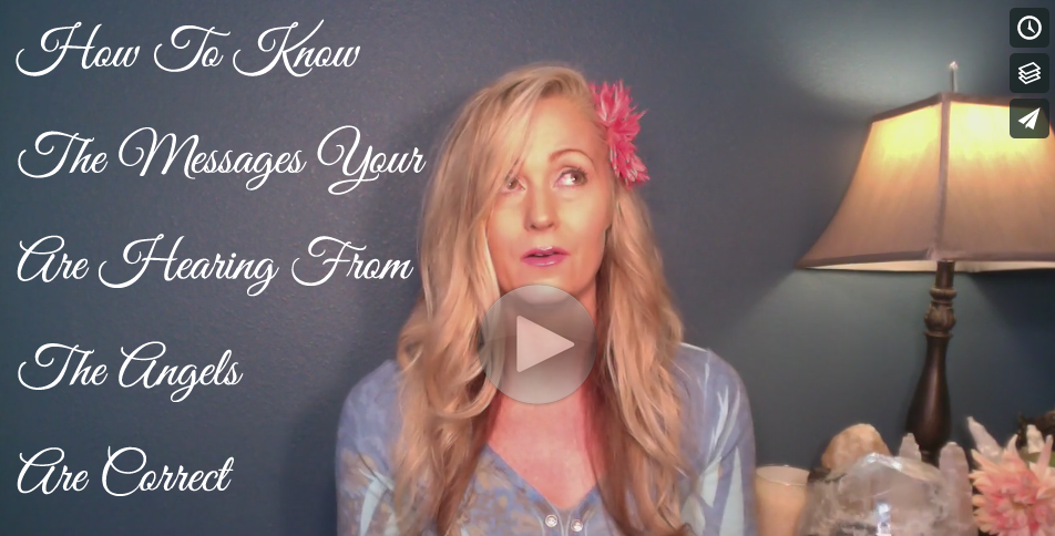Module 6 - How To Know The Messages You Are Hearing From The Angels Are Correct - Kimberly Dawn