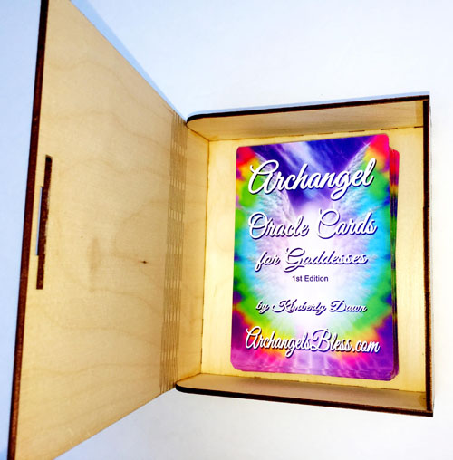 Archangel Oracle Cards Autographed Box by Kimberly Dawn 11