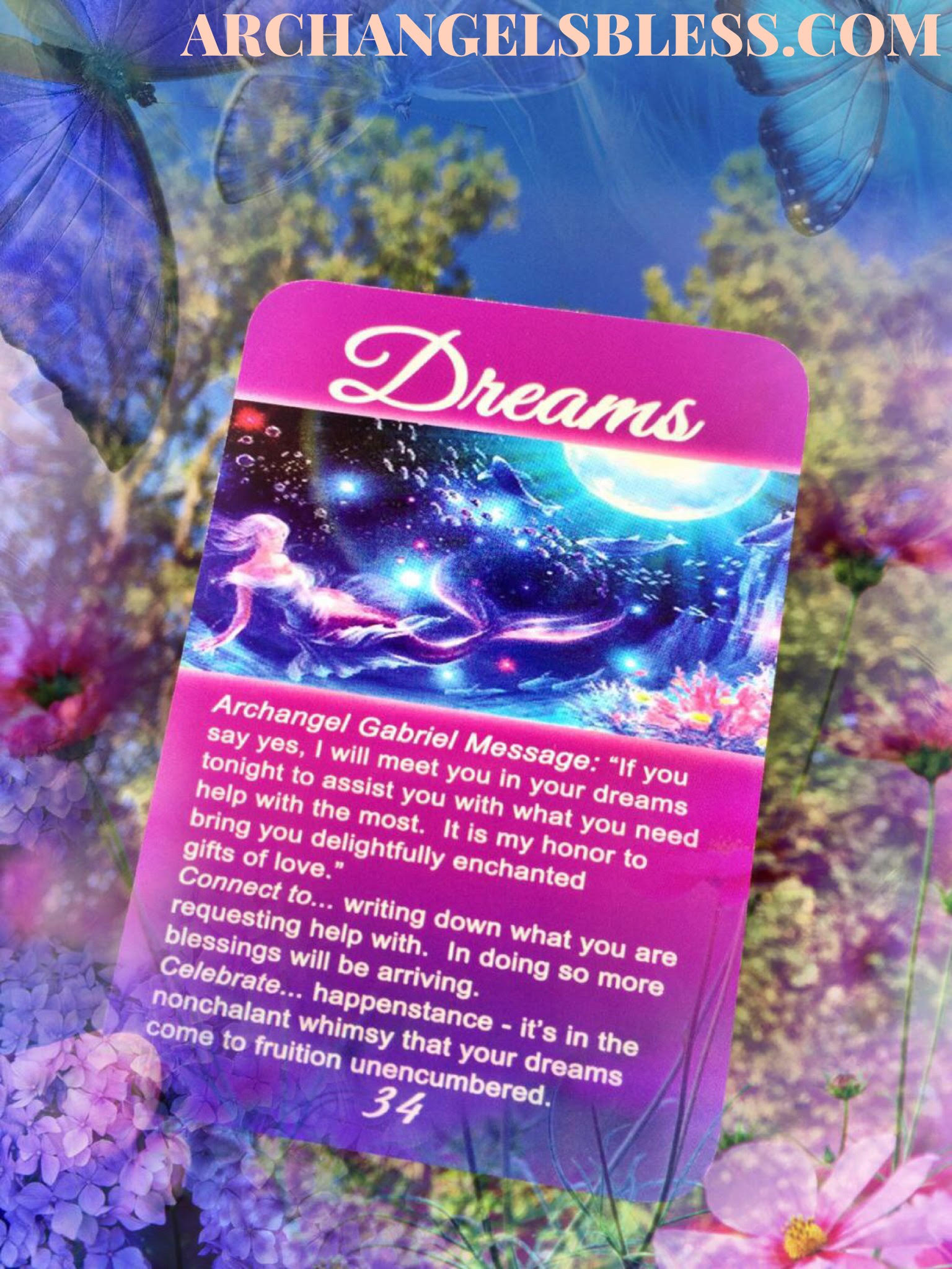 Archangel Oracle Cards for Goddesses by Kimberly Dawn 34