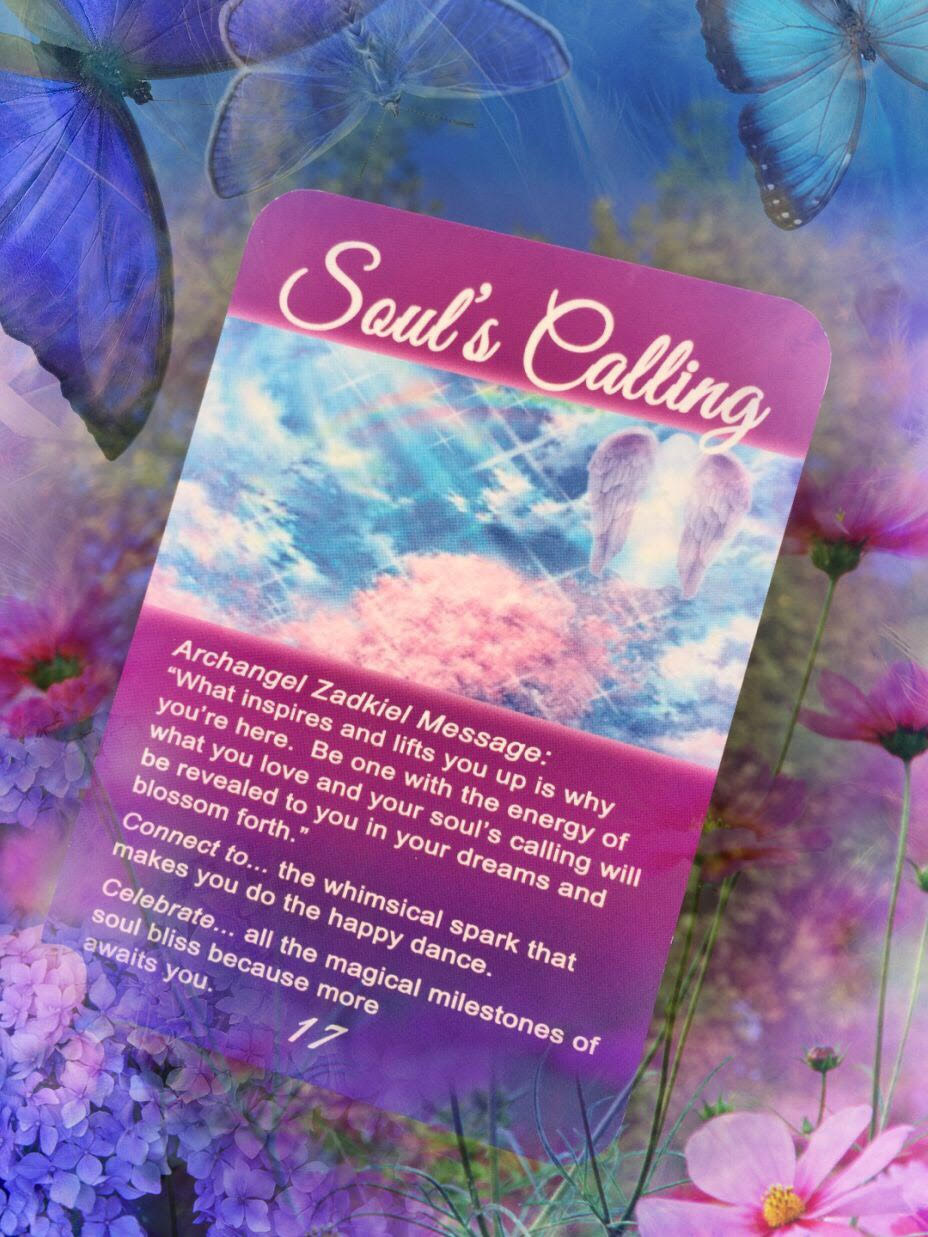 Life Purpose Souls Calling Archangel Oracle Card by Kimberly Dawn