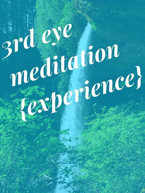 Third Eye Meditation [experience and a message from Archangel Michael]