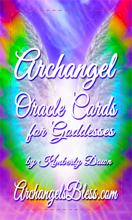 Archangel Oracle Cards for Goddesses (Sneak Peek)