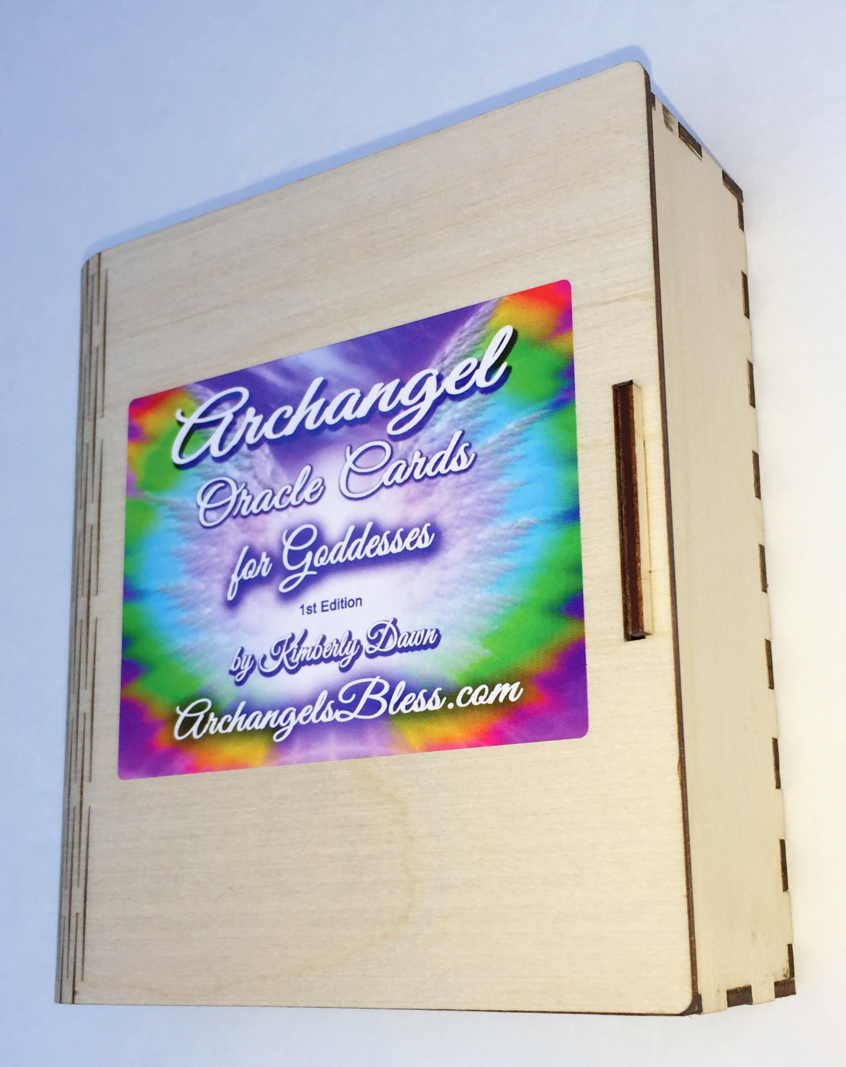 Archangel Oracle Cards Autographed Box by Kimberly Dawn 10