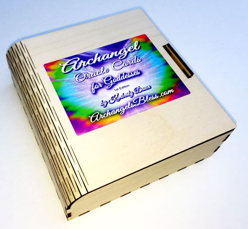 Archangel Oracle Cards Autographed Box by Kimberly Dawn 13