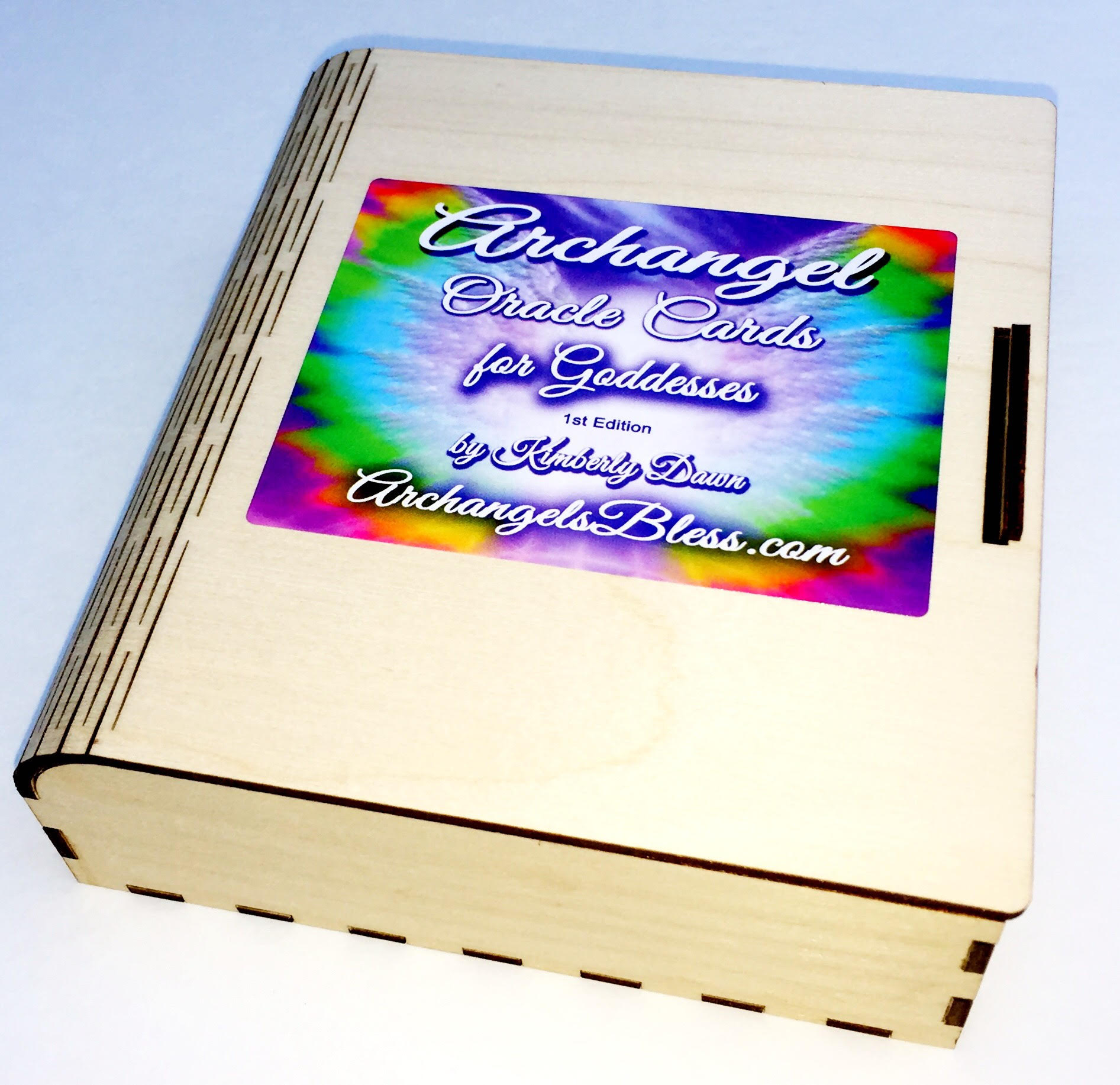 Archangel Oracle Cards Autographed Box by Kimberly Dawn 5