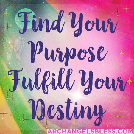 Finding Your Purpose – Living Your Purpose – Angel Messages (Facebook & Instagram Posts)