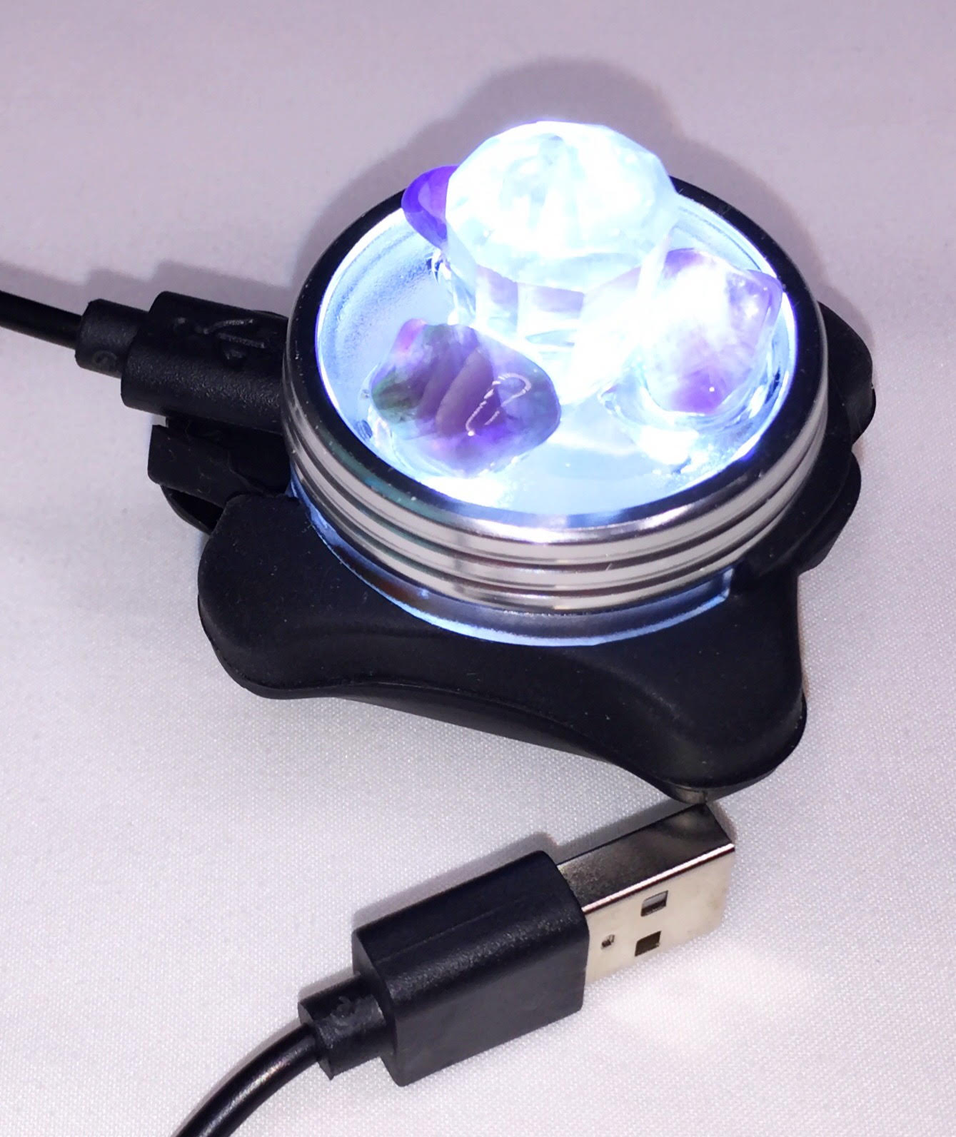 Empath Protection USB Portable Archangel Crystal Light Unit