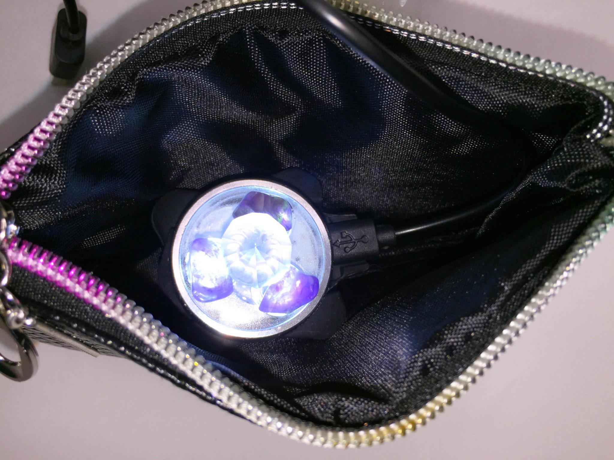 Empath Protection USB Portable Archangel Crystal Light Unit