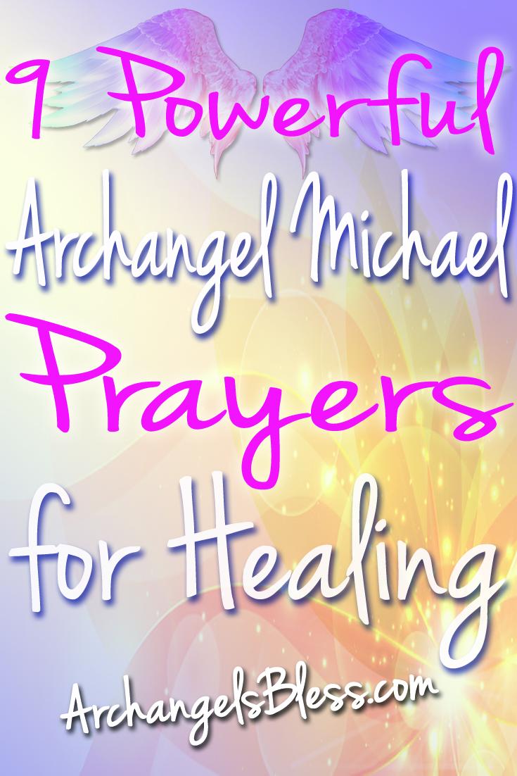 9 Powerful Archangel Michael Prayers for Healing (Video