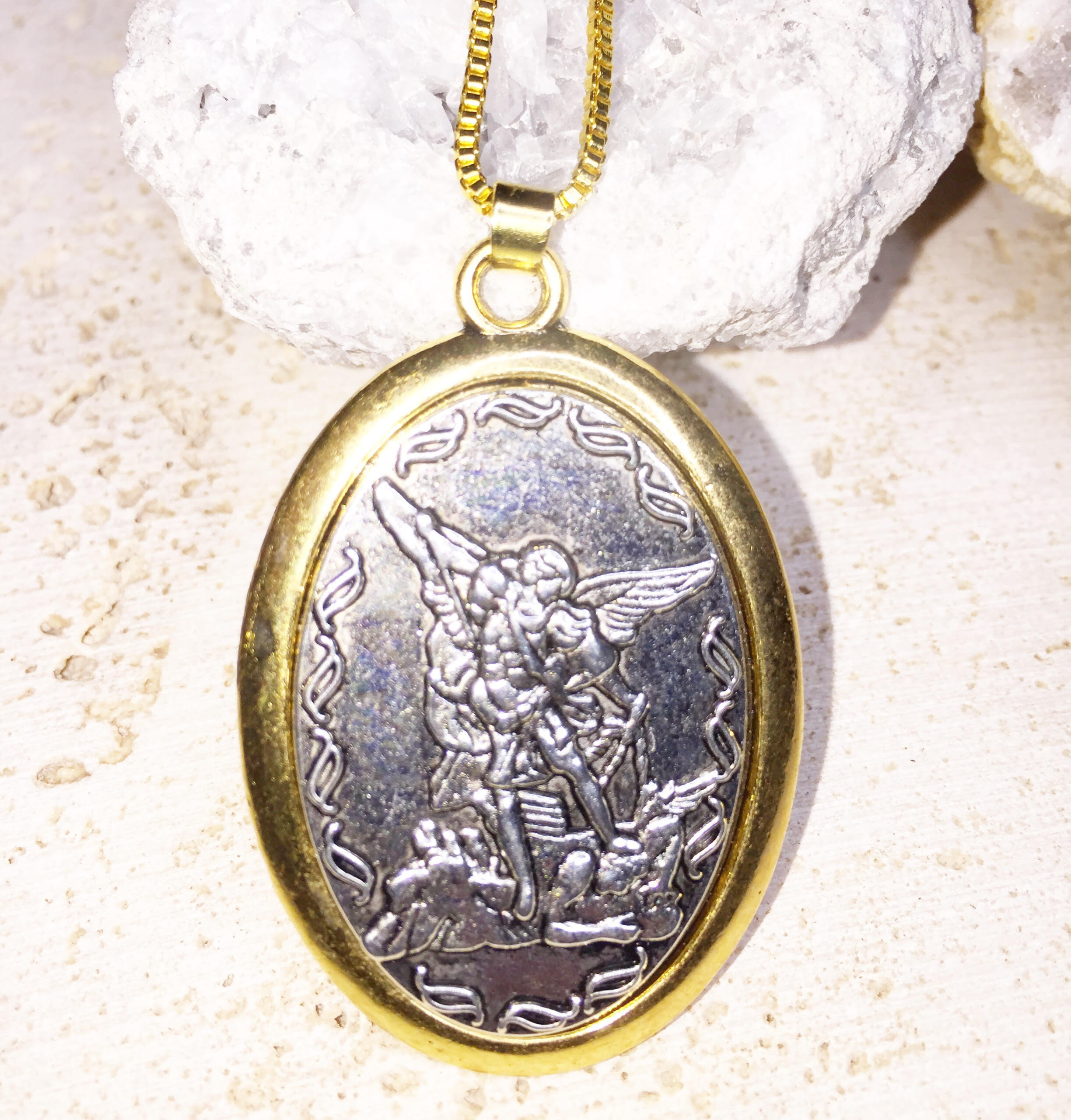 Archangel Michael Necklace (Blessed)
