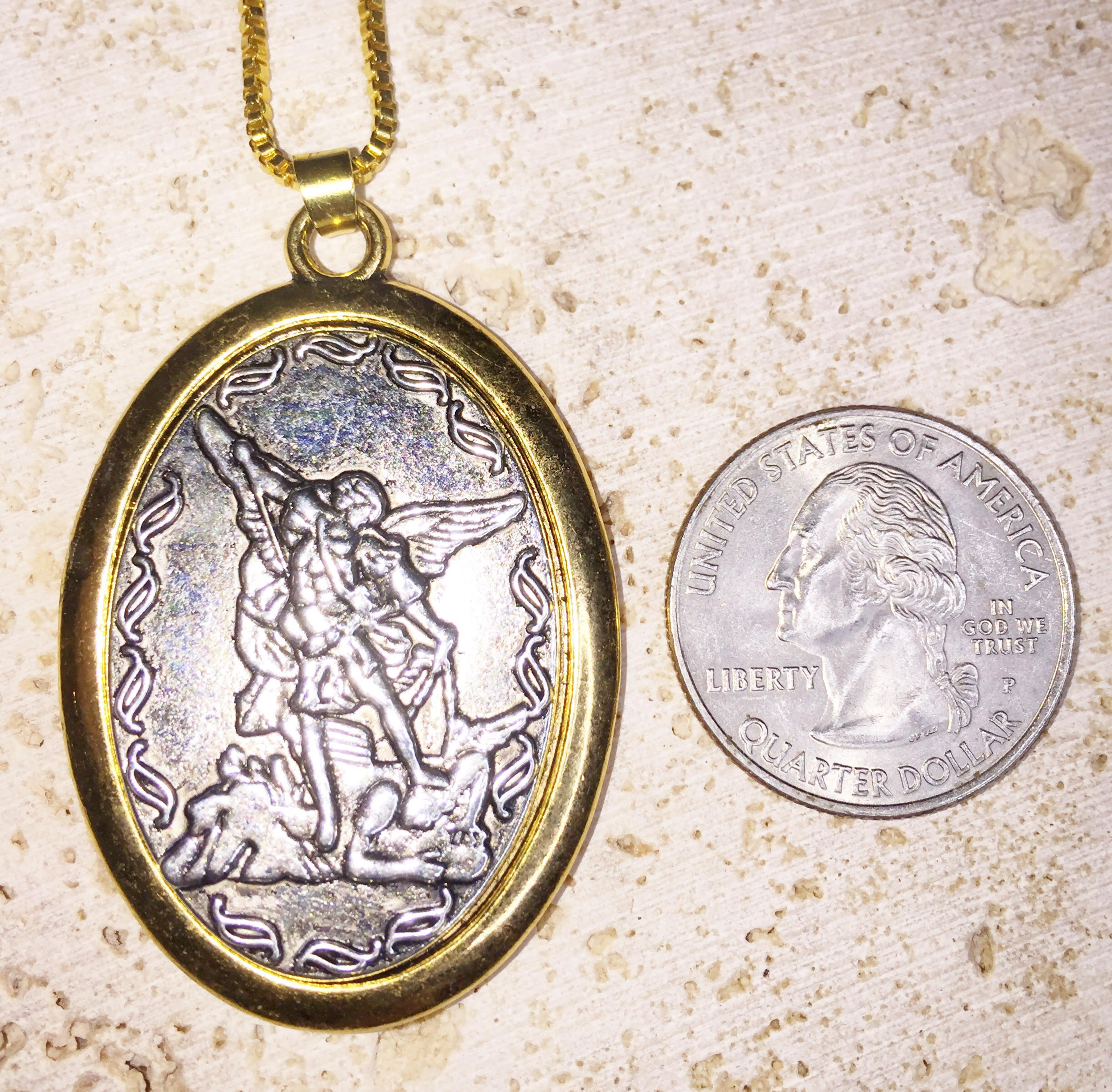 Archangel Michael Necklace - Archangel & Angel Messages For You