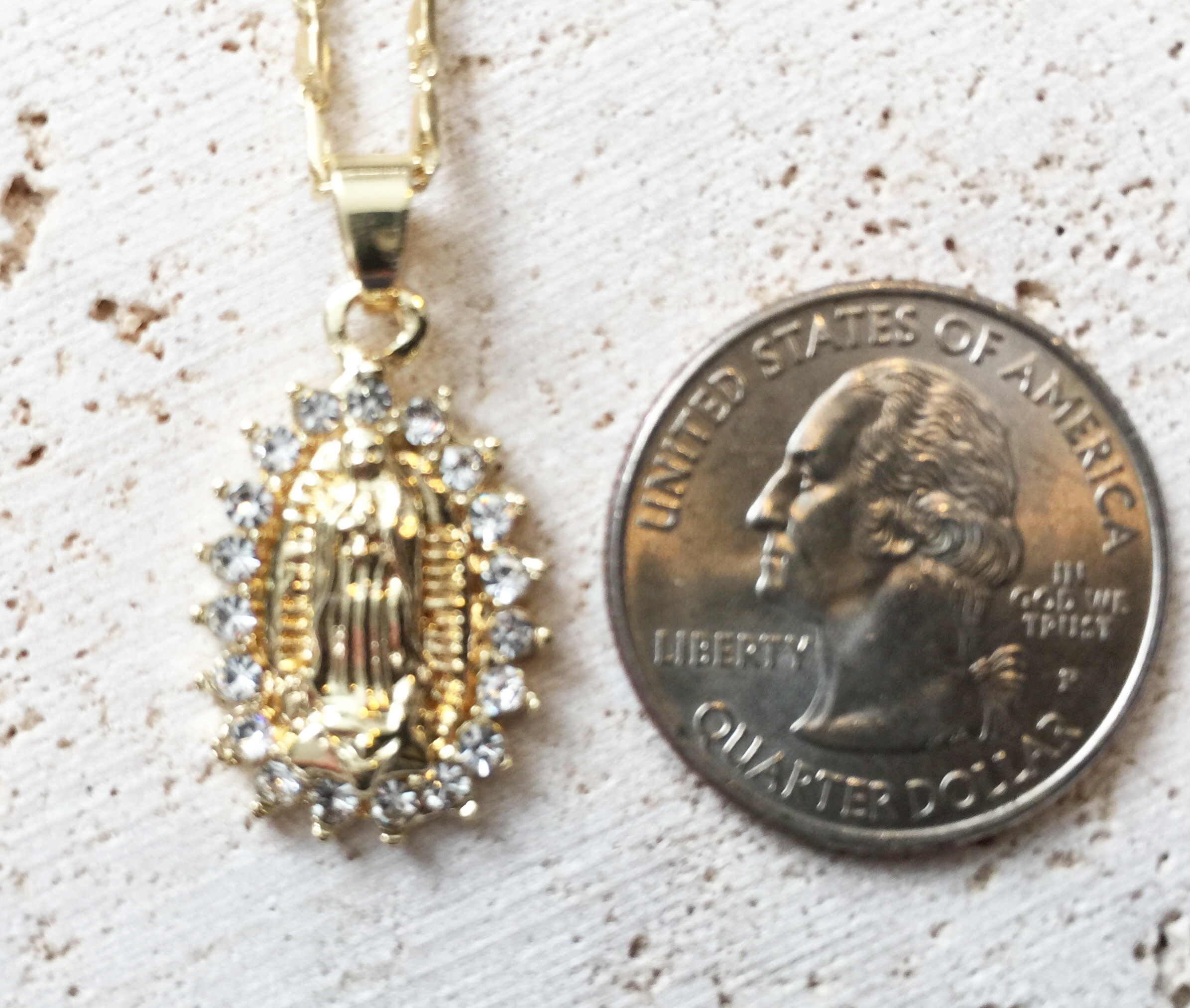 Mother Mary Necklace (Blessed)