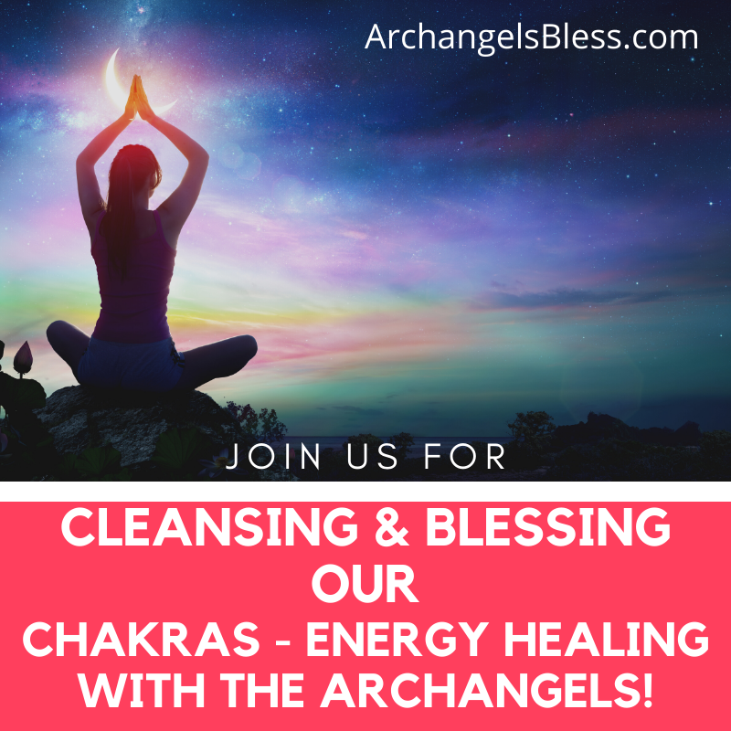 NEW YEAR'S LIVE EVENT MP3 INSTANT DOWNLOAD - Cleansing & Blessing Our Chakras - Energy Healing with the Archangels! TELECONFERENCE