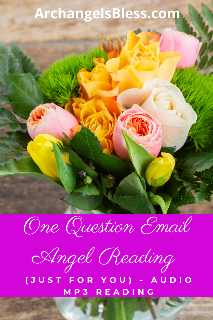 One Question Email Angel Reading (Just for You) - Audio MP3 Reading - AVAILABLE FOR A LIMITED TIME ONLY