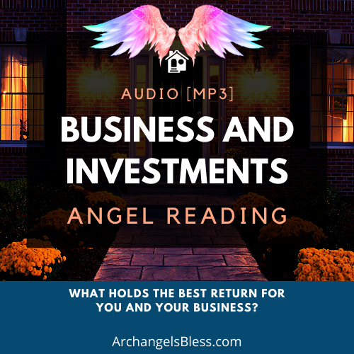 Business and Investments Audio Angel Reading (Just for You) - MP3 Reading