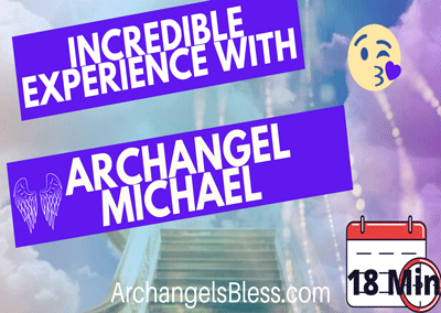 Spiritual Awakening Guided Meditation [Clear Fear Energy] With Archangel Michael VIDEO