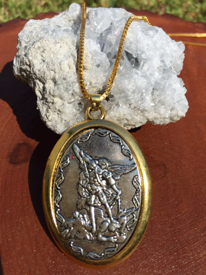 Archangel Michael Necklace Protection (Blessed)