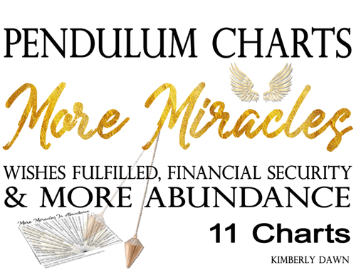 Receive More Miracles 11 BLESSED PENDULUM CHARTS + 2 BONUS CHARTS [INSTANT DOWNLOAD]