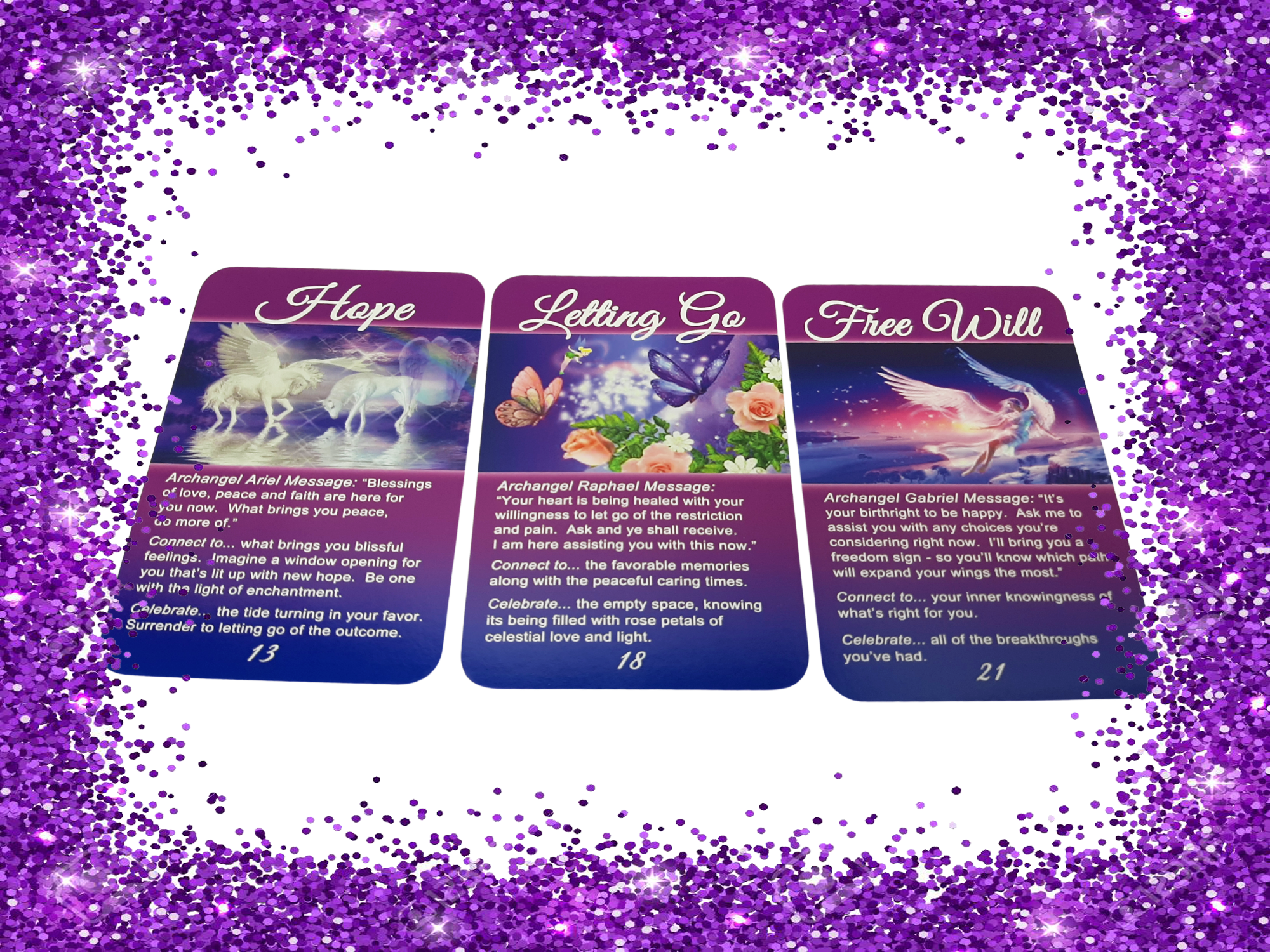 Archangel Oracle Cards For Goddesses [Empaths]