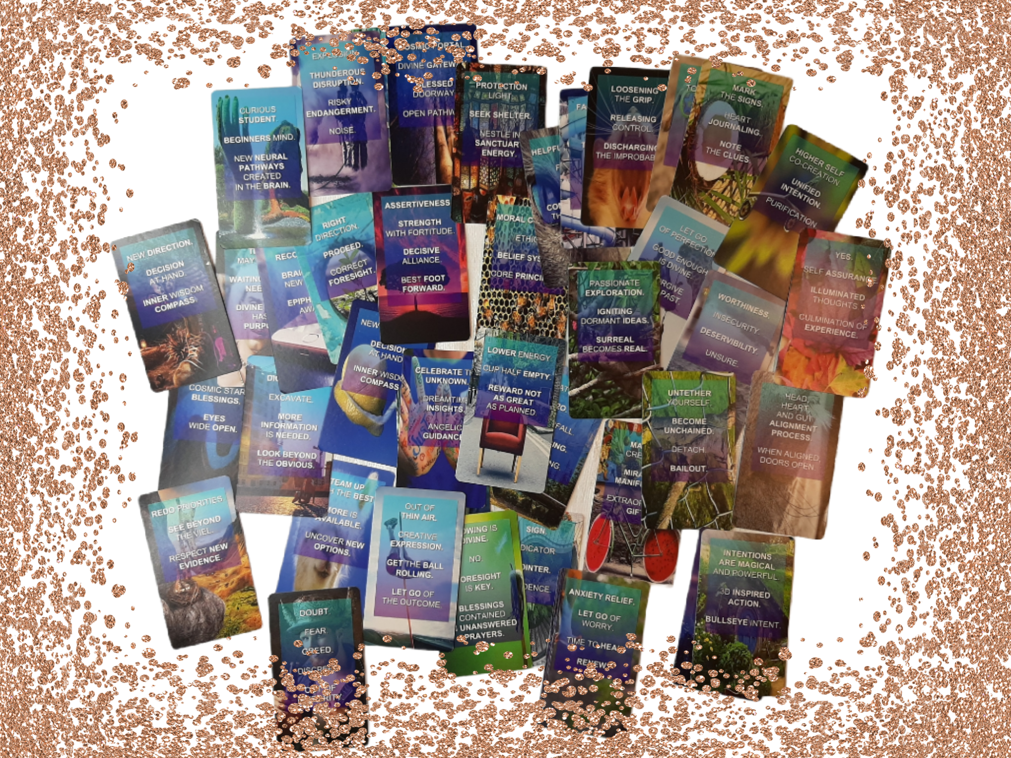 NEW Cosmic Awakening Guidance Oracle Cards [Blessed by the Archangels]