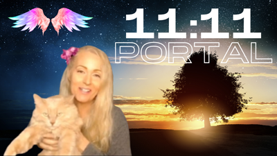 OPEN The 11:11 PORTAL 528hz MANIFESTING FREQUENCY – Meditate With Me & The Angels