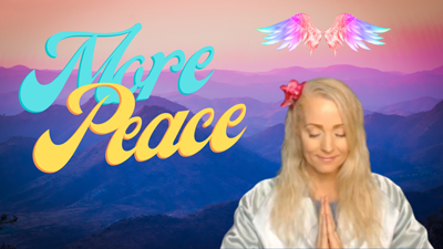 Prayer For Daily Peace – Create More Peace Today! – Meditate with Me & The Angels